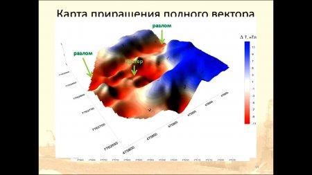 """Результаты комплексных геофизических исследований на геологическом новообразовании – """"Ямальском кратере"""""""